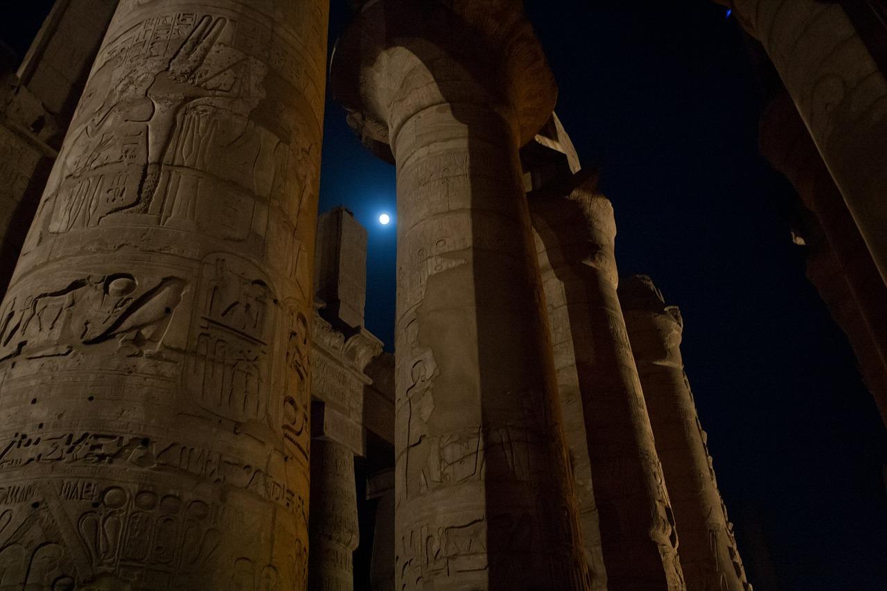 Portrait du signe astrologique égyptien Anubis