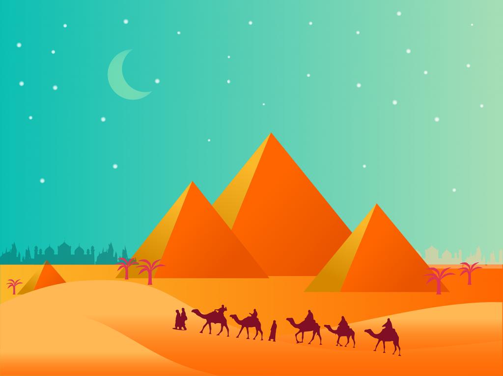 Les pyramides égyptienne